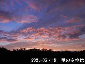 2021-06・19 里山の夕空は・・・ (5).JPG